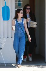 Emma Roberts Getting coffee in Los Feliz