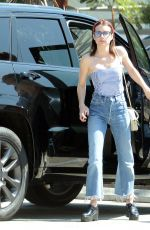 Emma Roberts Shopping in Hollywood