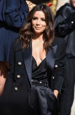 Eva Longoria At Balmain Womenswear Spring / Summer 2020 show as part of Paris Fashion Week