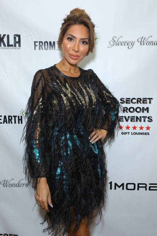 Farrah Abraham At the Red Carpet Retreat Lounge - Presented by Secret Room Events held at the InterContinental Los Angeles