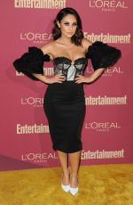 Francia Raisa At Entertainment Weekly and LOreal Paris at Sunset Tower Hotel, Los Angeles