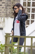 Gemma Chan Out in London