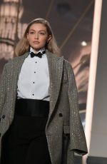 Gigi Hadid Walking the runway for the Ralph Lauren Fashion Show in NYC