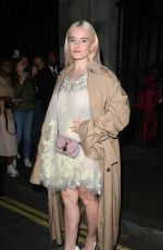 Grace Chatto At Julien Macdonald show, Departures, Spring Summer 2020, London Fashion Week