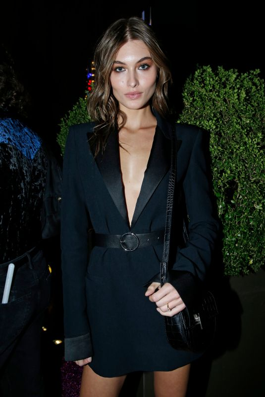 Grace Elizabeth At Vogue Japan 20th anniversary party, Spring Summer 2020, Milan Fashion Week, Italy
