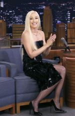 Gwen Stefani At The Tonight Show Starring Jimmy Fallon in New York City