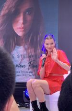 Hailee Steinfeld At Press interviews & fan meeting in Manila, Philippines