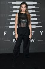 Hailee Steinfeld At Savage X Fenty Show in Brooklyn