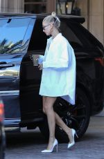 Hailey Baldwin Leaves the Montage Hotel in Beverly Hills