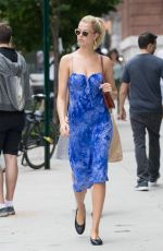 Hailey Clauson Out in NYC
