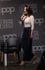 Hayley Atwell At Q&A with fans at Oz Comic-Con in Sydney