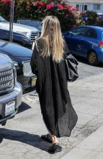 Heidi Klum At Meche Hair Salon in Beverly Hills