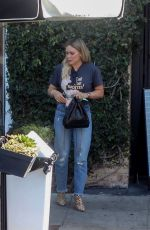 Hilary Duff Out for lunch in West Hollywood