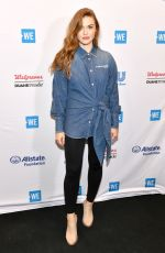 Holland Roden At WE Day New York 2019