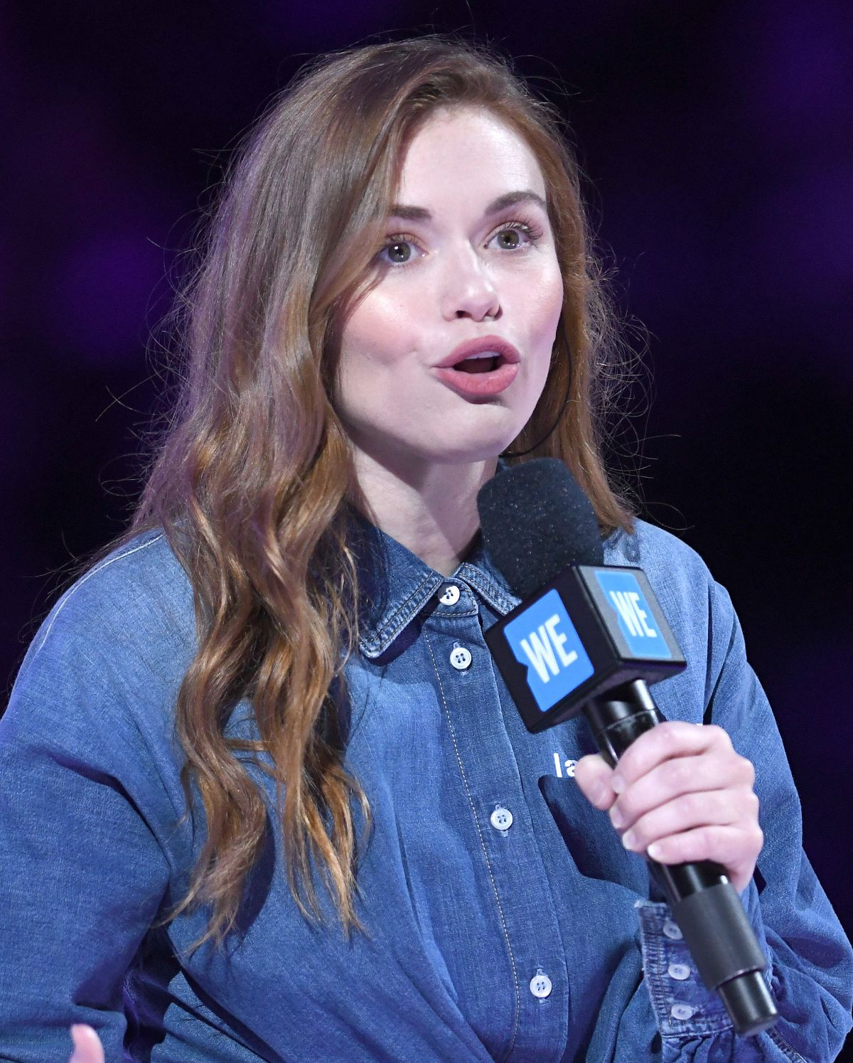 Holland Roden Attends WE Day UN 2019 at Barclays Center ...