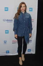 Holland Roden Attends WE Day UN 2019 at Barclays Center