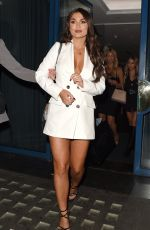 India Reynolds Attends India x Boohoo private dinner at Bagatelle in London