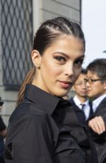 Iris Mittenaere Arrives to Tod