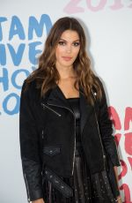 Iris Mittenaere Attending the Etam Winter 2019/Summer 2020 show as part of Paris Fashion Week in Paris