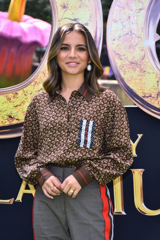 Isabela Moner At Dora and the Lost City of Gold film premiere in Mexico City
