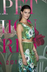 Isabeli Fontana At Green Carpet Fashion Awards in Milan