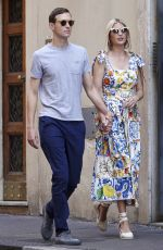 Ivanka Trump and husband Jared Kushner spotted strolling in Rome