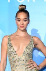 Jasmine Sanders At Gala for the Global Ocean 2019 in Monte-Carlo, Monaco