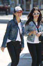 Jenna Dewan & Emmanuelle Chriqui Out in Studio City