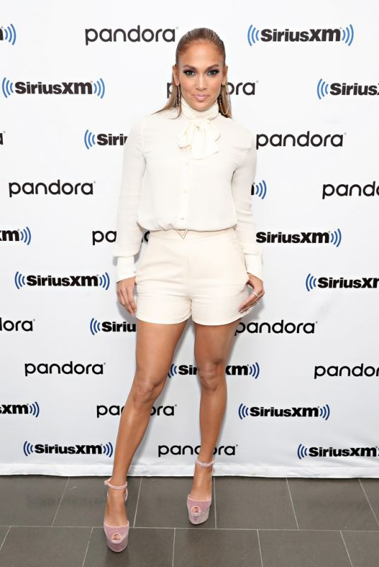 Jennifer Lopez At SiriusXM Town Hall with Jennifer Lopez hosted by Hoda Kotb in NYC