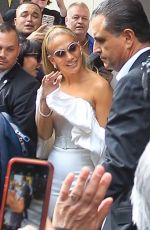 Jennifer Lopez Greeting fans at the Toronto International Film Festival