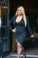 Jessica Simpson Out in New York City