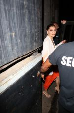 Jessie J Seen leaving The Troubadour with Channing Tatum in West Hollywood