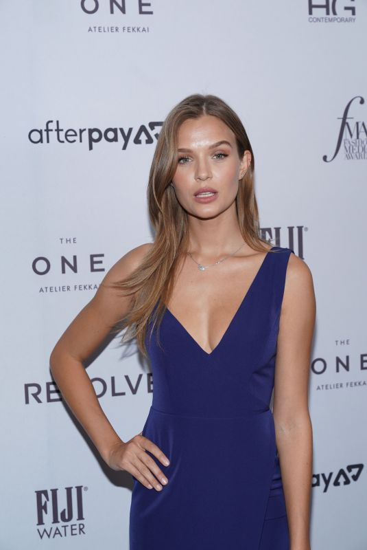 Josephine Skriver At The Daily Front Row Fashion Media Awards S/S 2020 in NYC