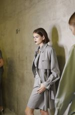 Kaia Gerber Backstage for Max Mara fashion show during the Milan Fashion Week Spring/Summer 2020 in Milan, Italy