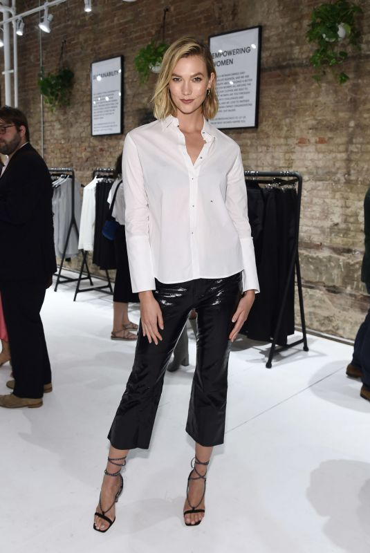 Karlie Kloss At Misha Nonoo Pop-up Launch Event in NYC