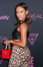 Karrueche Tran Attends ELLE, Women in Music presented by Spotify and hosted by Nina Garcia, Jameela Jamil & E! Entertainment