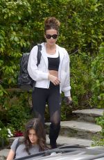 Kate Beckinsale Going to the gym in LA