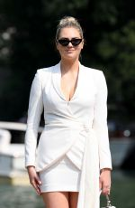 Kate Upton Arriving at the 76th Venice Film Festival