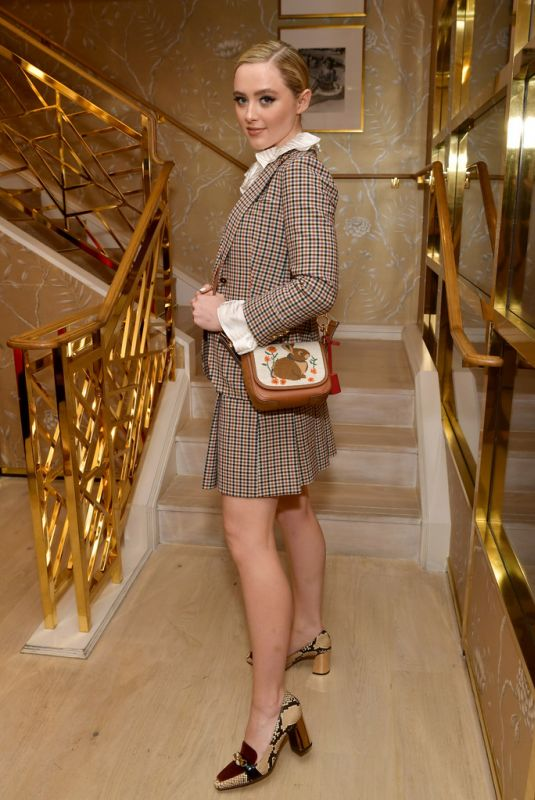 Kathryn Newton At Glamour x Tory Burch Women To Watch Lunch in Beverly Hills
