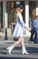 Kathryn Newton Makes a stylish appearance in Beverly Hills