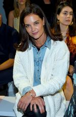 Katie Holmes At Elie Tahari show at New York Fashion Week