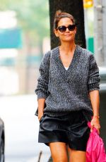 Katie Holmes Out for a stroll in New York City
