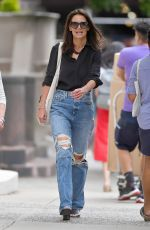 Katie Holmes Out for lunch in NYC
