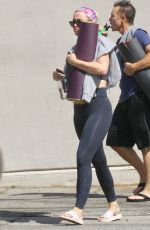 Katy Perry Leaving a yoga studio in LA