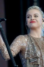 Kelsea Ballerini Performs on stage during BBC2 Radio Live 2019 at Hyde Park in London