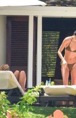 Kendall Jenner and Hailey Bieber in Bikinis in Jamaica