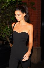 Kendall Jenner At Dinner at Cipriani in New York City