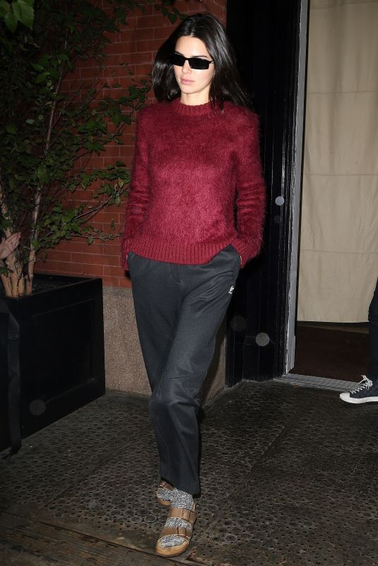 Kendall Jenner Leaving The Mercer hotel in NYC