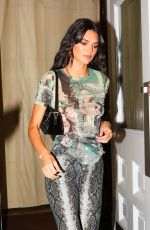 Kendall Jenner Steps out of the Renell Medrano fashion show in New York City