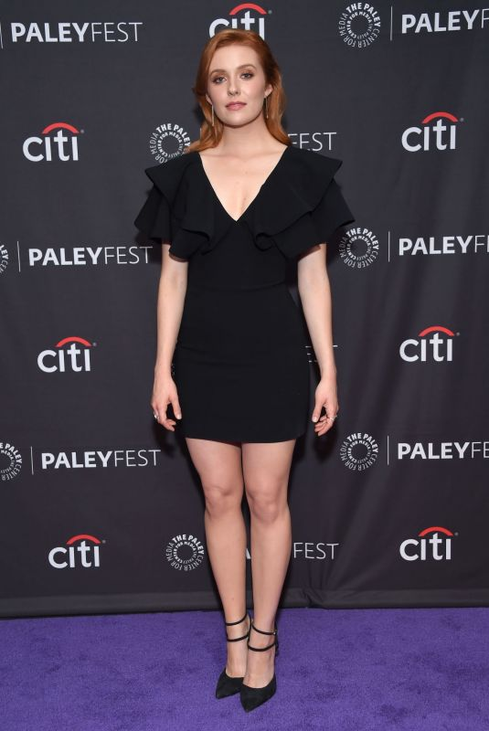 Kennedy McMann At 13th Annual PaleyFest Fall TV Preview for Nancy Drew in Beverly Hills